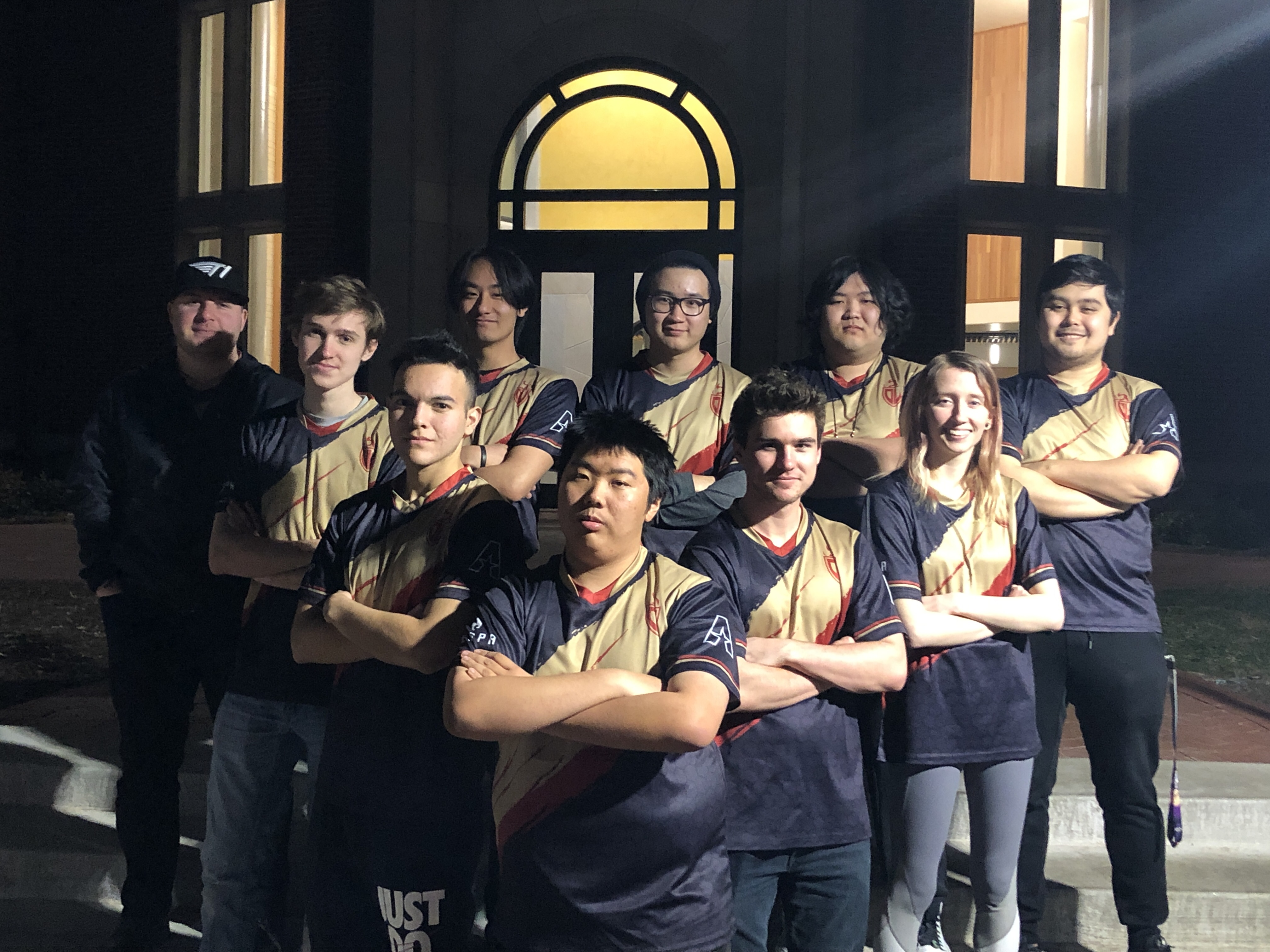 League of Legends team photo